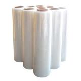 PE-Handstretchfolie 20 my transparent  500 mm breit 300 lfm   6 Rollen im Karton
