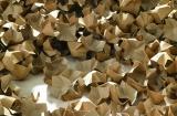 120 l F�llstoff Polsterchips PAPERFILL aus 100% Recyclingpapier naturbraun  120 l im Karton