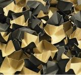 240 l F�llstoff Polsterchips DECOFILL aus 100% Recyclingpapier - schwarz -  240 l im Karton